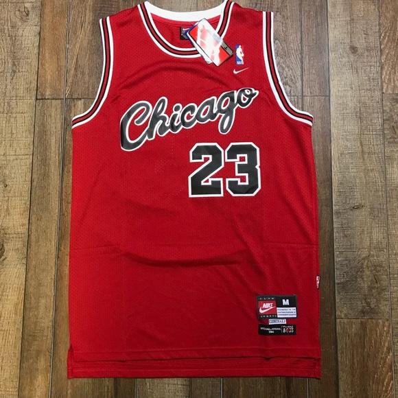 sports shoes b1cba a7a4b Vintage Michael Jordan Chicago Bulls Nike Jersey